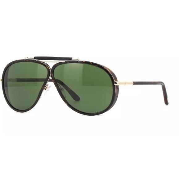 ced676139d21 Tom Ford Accessories   Cedric Tf 509 52n Dark Hav Aviator Green ...